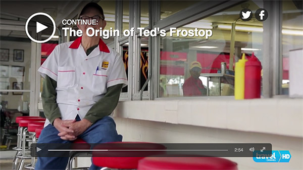 Ted Frostop video